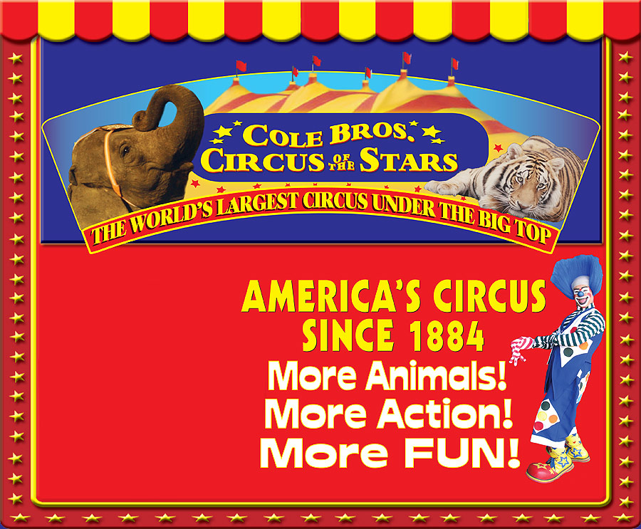 Cole brothers circus coupons 2018