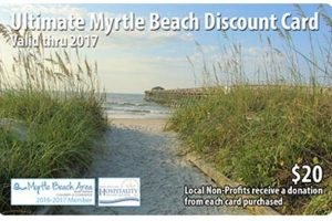 2017 Myrtle Beach Coupon Card