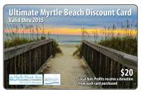 2015 Myrtle Beach Coupon Card: $20 + Free Shipping