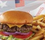 Free burger and fries for military at Shoney's