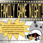 Free Family Game Night at Socastee Library