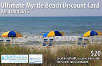 2016 Myrtle Beach Coupon Card