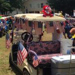 FREE 4th of July Golf Cart Parade in Garden City