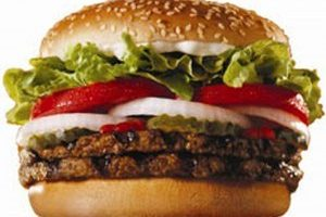 Burger King: Two Whopper meals for $10