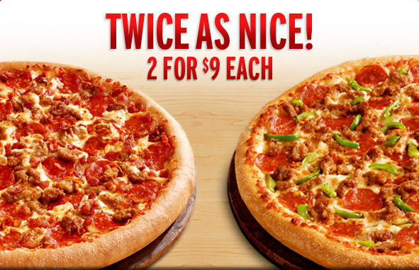 Details: Pizza Hut celebrates its official sponsorship of the NFL by offering large 2-topping pizzas for $ each throughout the regular football season. While the deal is available for both carryout and delivery orders, you will have to place your order online in order to take advantage of the deal/5().