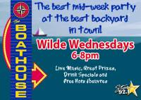 Wilde Wednesdays at The Boathouse