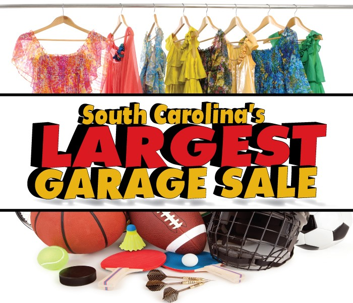 free admission to south carolina 39 s largest garage sale