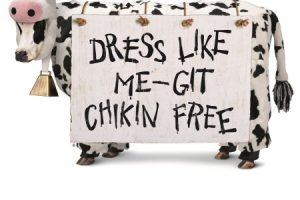 Dress like a cow, get free entree at Chick-fil-A