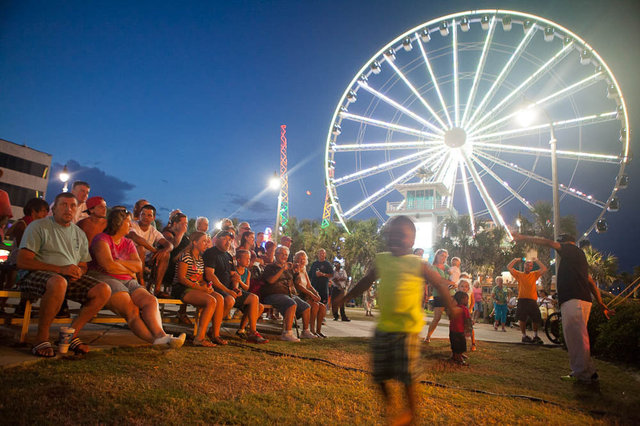Every Monday Night From June 12 Through September 4 2018 Take The Kids To Plyler Park On Myrtle Beach Boardwalk For A Carnival