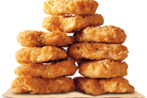 Burger King: 10 chicken nuggets for $1.69