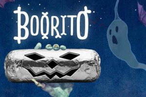 Get $4 'BOO-rito' at Chipotle Mexican Grill on Halloween night