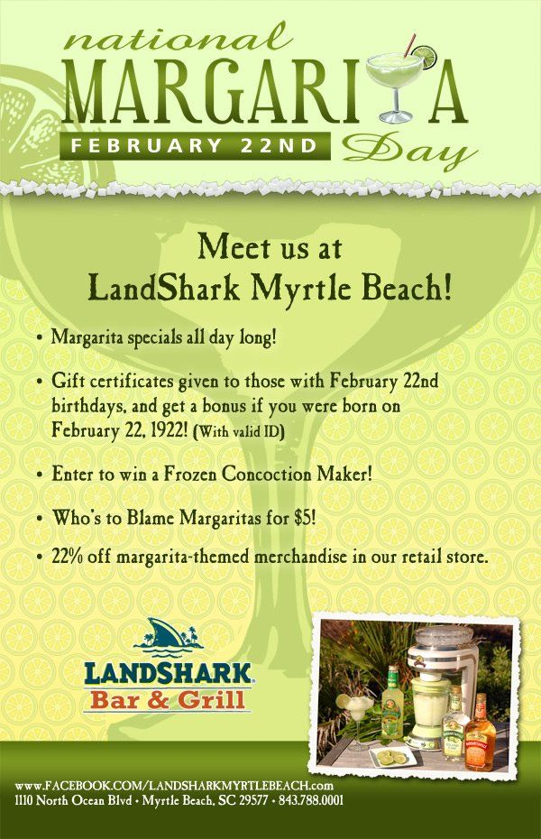 Landshark Myrtle Beach Coupons