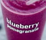 $1 Blueberry Pomegranate Smoothies at McDonald's
