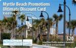 2014 Myrtle Beach Coupon Card: $20 + Free Shipping